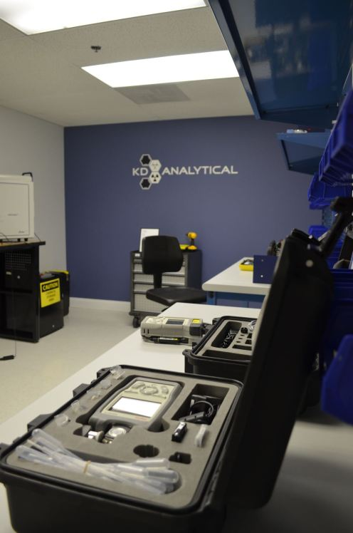CBRNE Repair Center in the KD Analytical NCR Office